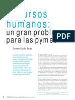 RRHH Un Gran Problema Para Las Pymes