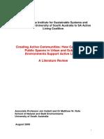 Creating Active Communities FULL REPORT
