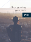 Stop Ignoring Your Back
