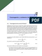 Convergencia Serie de Fourier