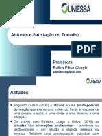03) Atitudes e Satisfação No Trabalho