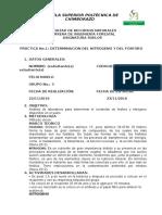 Informe Laboratorio Nitrogeno y Fosforo