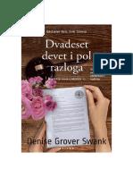 Denise Grover-Swank - Dvadeset Devet i Pol Razloga 1