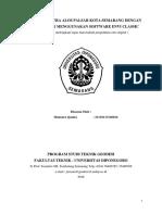 Pengolahan Citra Digital - DiNSAR ENVI