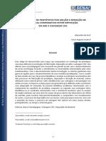 Construção de Protótipos por adição e remoção de material comparativo entre deposição em ABS