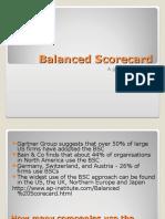 Balanced Scorecard 2010