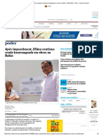 Após Impeachment, Dilma Continua Sendo Homenageada Em Obras Na Bahia - 09-11-2016 - Poder - Folha de S