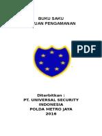 Buku Saku Satuan Pengamanan