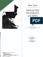 As - R0s4l1nd Fr4nkl1n 4nd DNA