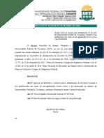 13-2015 - Afastamento de Docente Da UFT Em Cursos de Pós-Graduação Stricto Sensu e Pós-Doc
