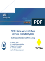 ISA101 - Human Machine Interfaces for Process Automation Systems