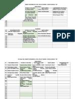 Ficha de Participantes de Atletismo Categoria