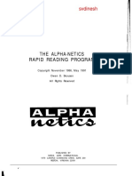 The Alpha-Netics Rapid Reading Program - Owen D. Skousen