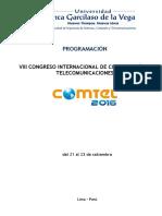 Programacion COMTEL2016