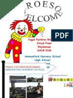 Ammanford Nursery School Prospectus