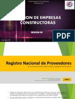 Gestion de empresas constructoras Sesion 05