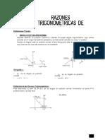 Razones Trigonometraica de Angulos en Posision Noraml