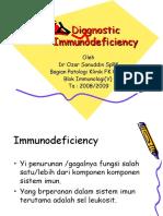 Diagnostic Immunodeficiency