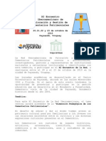 Convocatoria Oficial XI Encuentro Iberoamericano de Cementerios