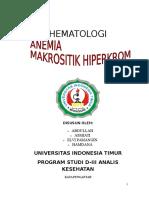 Anemia Makrositik Hiperkrom