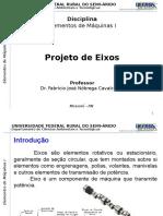 Elementos de Maquinas I - 3.1-Eixos, Chavetas e Acoplamentos