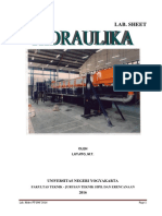 Modul praktikum hidrolika ~2015