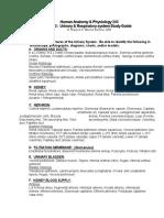 URINARYRespiratory Study Guidesp06