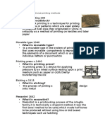 examples of traditional printing methods 2