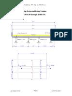 STL8 - Single Span Steel 3D Example