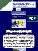 EXPO 2 LIQUIDACION TECNICO FINANCIERA DE PIP´S - copia