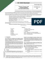 AD 2000-Merkblatt N 2 Englisch Vom 10-2000