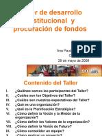 Taller Desarrollo Institucional Oax