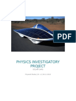 PHYSICS INVESTIGATORY PROJECT Solar Car1.docx