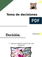 6. Toma de Decisiones