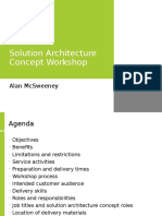 solutionarchitectureconceptworkshop-090729043125-phpapp02