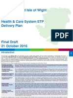 Hampshire and Isle of Wight NHS Sustainability and Transformation Plan