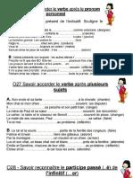 Francais Exercices
