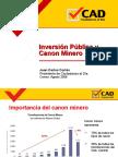 Inversion Publica y Canon Minero