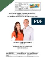 Plan Anticorrupcion y de Atencion Al Ciudadano 2016 - Municipio de El Retorno Guaviare
