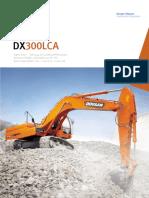 Excavadora Doosan Dx300lca
