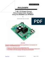 1.7 KW 2 Single Channel Class D Audio Power Amplifier Using the IRS2092S and IRFB4227 1422001499