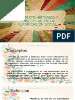 Contexto Histórico y Conceptual de La Planificación Social22