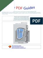 Manual Do Usuário Aeg Electrolux Df38 p