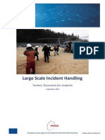 Large Scale Incident Handling Toolset