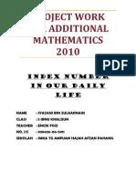 Add Math Complete Task4 2010 Sample