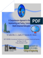 A Comprehensive Approach to Designing,Implementing and Testing Controllors for Small Unmanned Helicopter-Valavanis 2007 Sunus