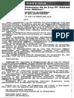Ley 29248-Ley Del Servicio Militar