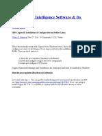 BM Business Intelligence Software