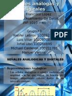 Senales Analogicas y Digitales Ppt