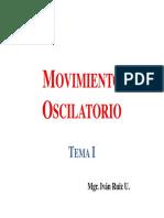 Movimiento Oscilatorio